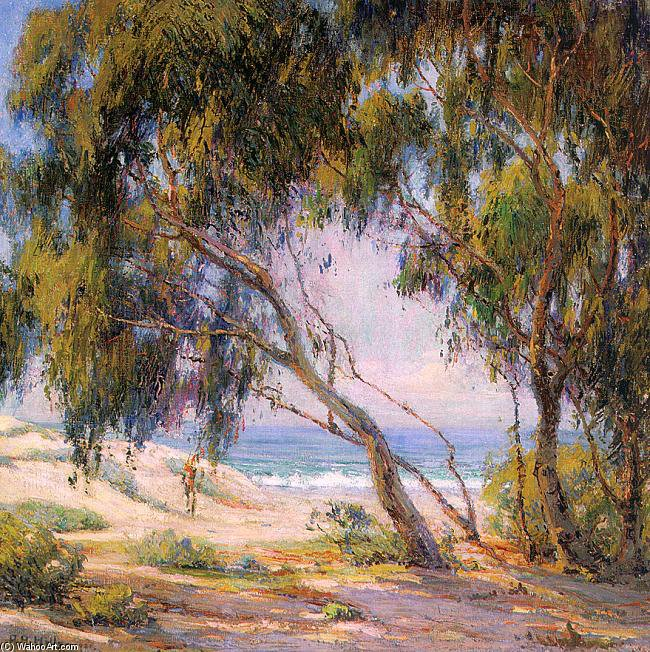 Tree by Anna Althea Hills (1882-1930, United States)