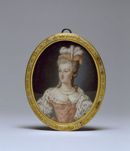 Anne Vallayer Coster - Queen Marie-antoinette