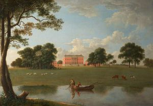 Anthony Devis - Tabley - Tabley House From The Park
