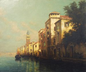 Antione Bouvard - Evening Glow, Venice