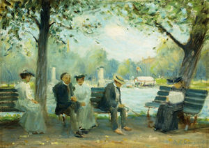 Arthur C. Goodwin - In The Public Gardens