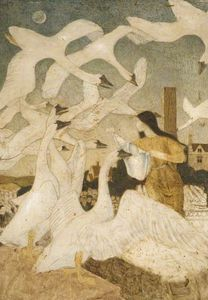 Arthur Joseph Gaskin - The Twelve Brothers Turned Into Swans