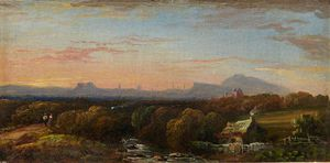 Arthur Perigal The Younger - Edinburgh From The South