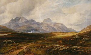 Arthur Perigal The Younger - Moorland Near Kinlochewe, Ross-shire