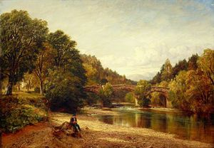 Arthur Perigal The Younger - Strowan Bridge