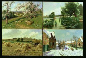 Arthur Walker Redgate - The Four Seasons