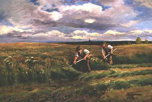 Arthur Walker Redgate - The Hay Harvest