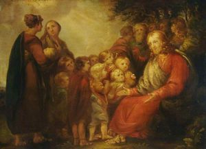 Benjamin Robert Haydon - Christ Blessing The Children