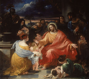 Benjamin Robert Haydon - Christ Blessing The Little Children