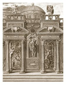 Bernard Picart - Picart The House Of Sleep Engraving