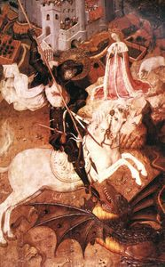 Bernat (Bernardo) Martorell - Saint George Killing The Dragon