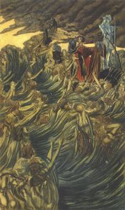 Carlos Schwabe - Don Juan In Hell