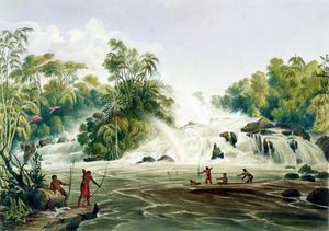 Charles Bentley - Junction Of The Kundanama With The Paramu