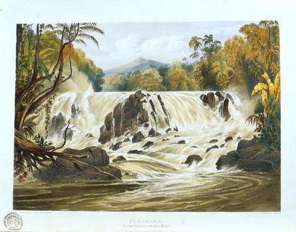 The Great Cataract Of The River Parima by Charles Bentley (1805-1854, United Kingdom)