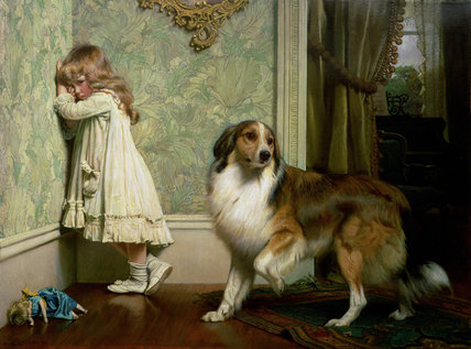 A Special Pleader by Charles Burton Barber (1845-1894, United Kingdom)