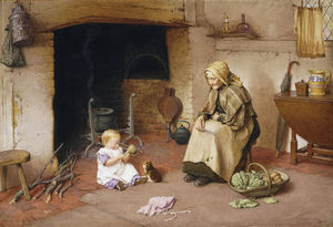 Charles Edward Wilson - A Visit To Granny,