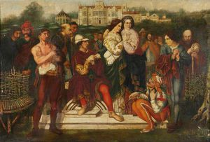 Charles Hunt - Orlando About To Engage With Charles The Wrestler