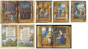 Charles James Adams - Hours Of Guyot Ii Le Peley, Book Of Hours, Use Of Troyes And Rome, In Latin And French, Illuminated Manuscript On Vellum