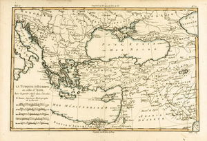 Rigobert Bonne (Charles Marie Rigobert Bonne) - Turkey, From 'atlas De Toutes Les Parties Connues Du Globe Terrestre' By Guillaume Raynal )
