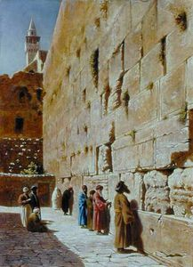 Charles Robertson - At The Wailing Wall -