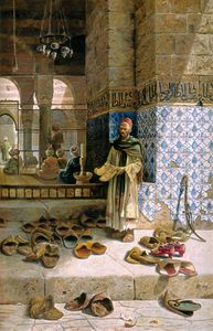 Charles Robertson - Shoes Of Religious Moslems In Front Of A Mosque