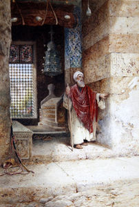 Charles Robertson - The Entrance To The Mosque