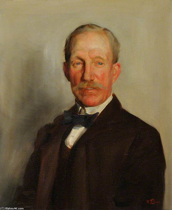 Alfred Fredwin by Charles Henry Sims (1873-1928, United Kingdom)