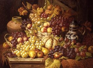 Charles Thomas Bale - Still Life With Fruit