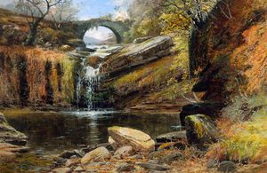 Clarence Henry Roe - Waterfall