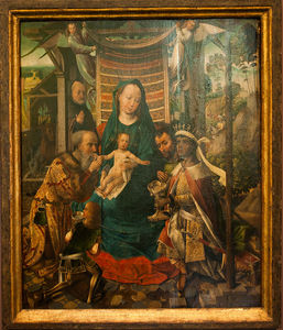 Colijn De Coter (Colyn Van Brusele) - The Adoration Of The Magi -