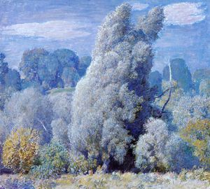 Daniel Garber - Wind Blown Willows
