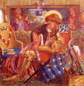 Dante Gabriel Rossetti - The Wedding Of Saint George And The Princess Sabra