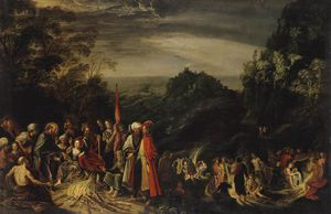 David Teniers The Elder - Miracle Of St Paul On The Island Of Malta