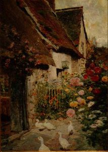 David Woodlock - A Cottage Door