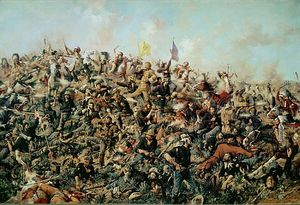 Edgar Samuel Paxson - Custer''s Last Stand, 25th June