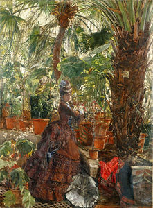 Edouard Frédéric Wilhelm Richter - In The Conservatory