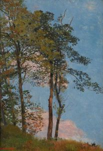 Edward Robert Hughes - Landscape With Trees