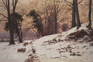 Edward Wilkins Waite - A Winter's Afternoon,