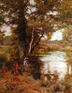 Edward Wilkins Waite - Fishing