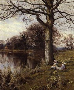 Edward Wilkins Waite - In Primrose Time