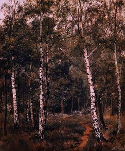 Edward Wilkins Waite - Silver Birches