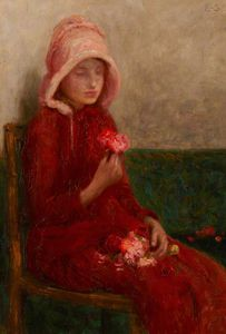 Edward William Stott - Red Roses