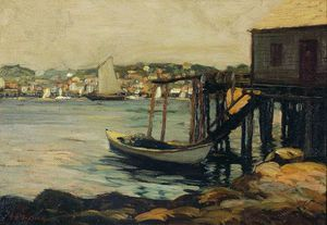 Edward Willis Redfield - Bouthbay Harbor