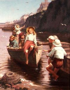 Edwin Thomas Roberts - The Boating Party