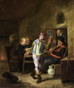Egbert Van Heemskerck Ii - Peasants In A Tavern