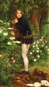 Eleanor Fortescue Brickdale - The Little Foot Page