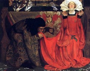 Eleanor Fortescue Brickdale - The Pale Complexion Of True Love