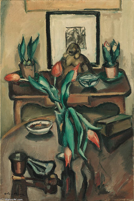 Nature Morte by Emile Othon Friesz (1879-1949, France) | Museum Quality Reproductions | WahooArt.com