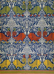Émile Prisse D'avennes - Example Of Printed Egyptian Fabric