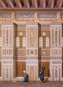Émile Prisse D'avennes - Interior Of The Mosque Of Qaitbay